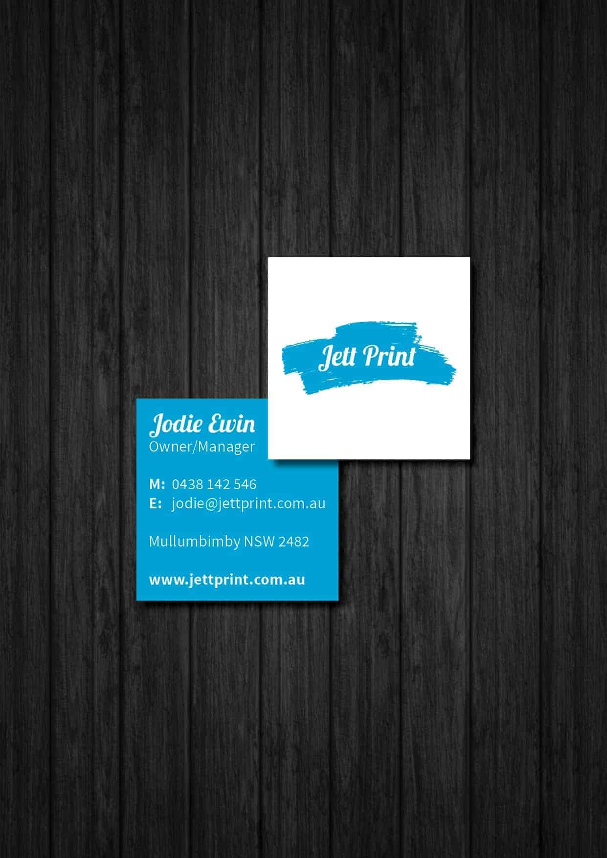 Square business cards printing gold coast brisbane tweed byron bay jett print square business cards reheart Image collections