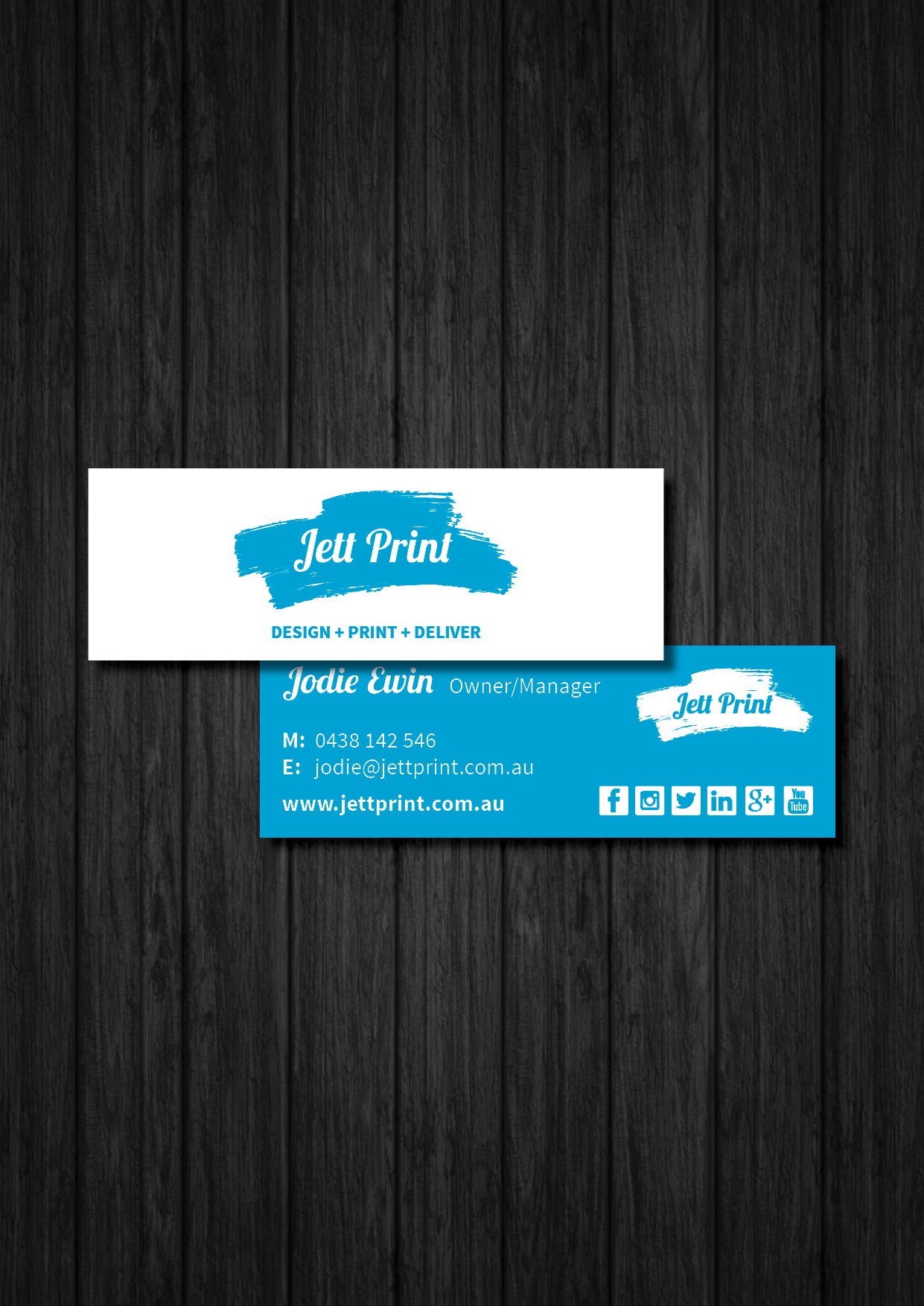 Mini business cards printing gold coast brisbane byron bay reheart Image collections