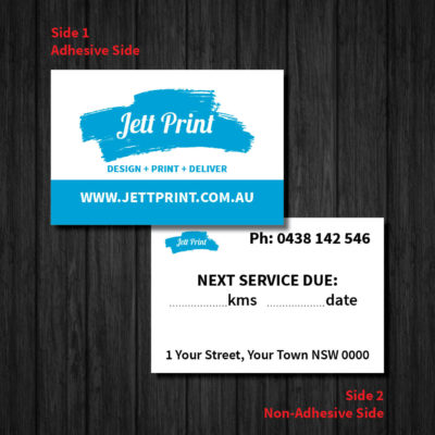 jett-print-car-service-stickers-lube-labels