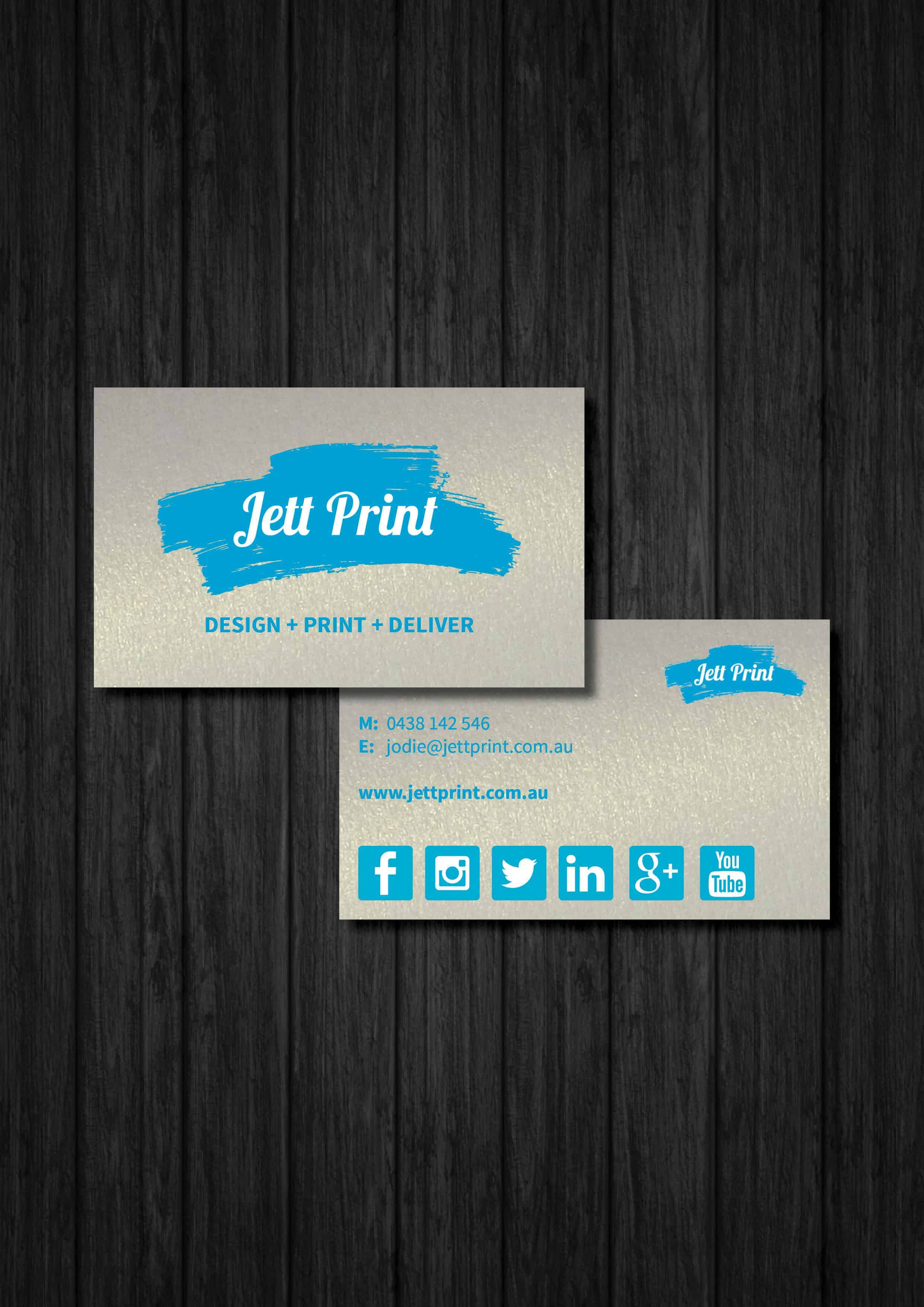 Metallic pearl business cards gold coast brisbane tweed jett print metallic pearl business cards reheart Choice Image