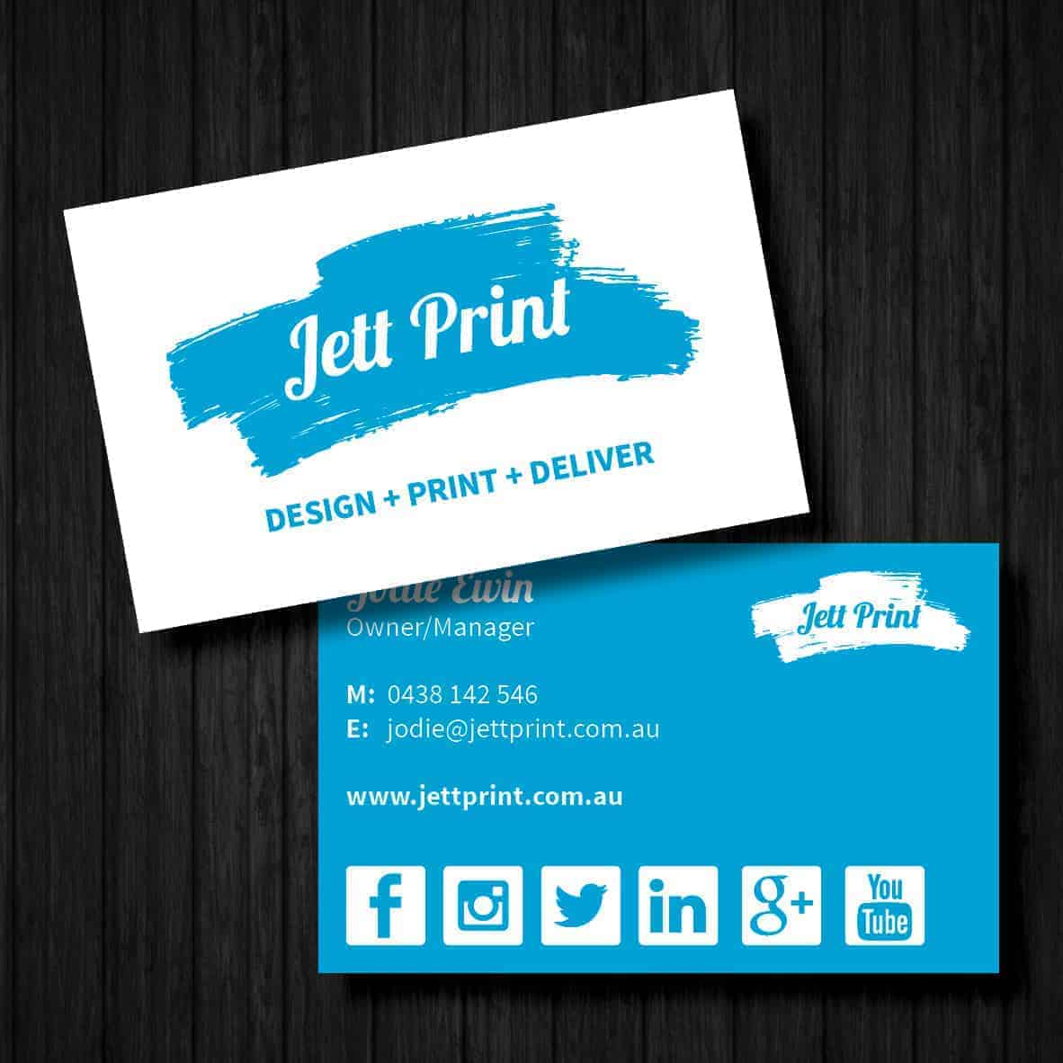 Embossed Business Cards Order line