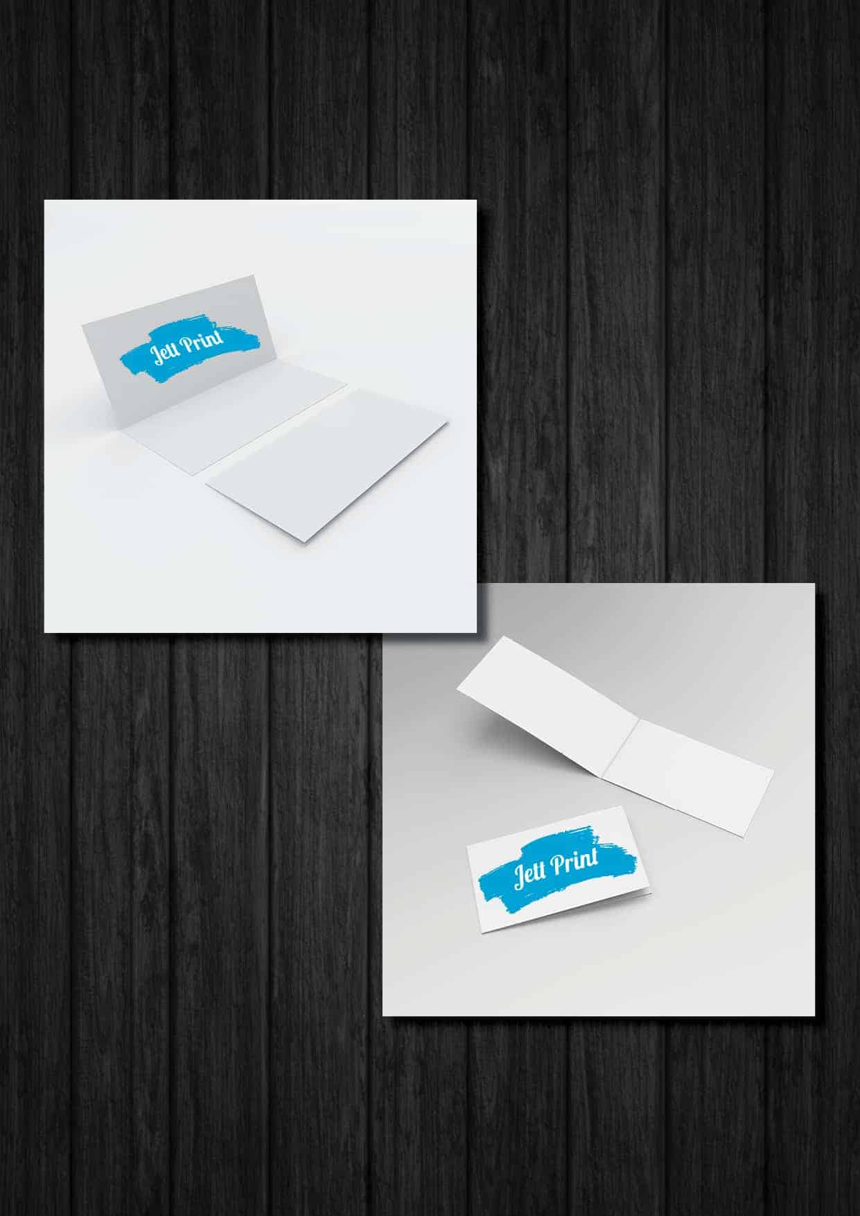 Folded Business Cards - Jett Print | Quality Online Printing Australia