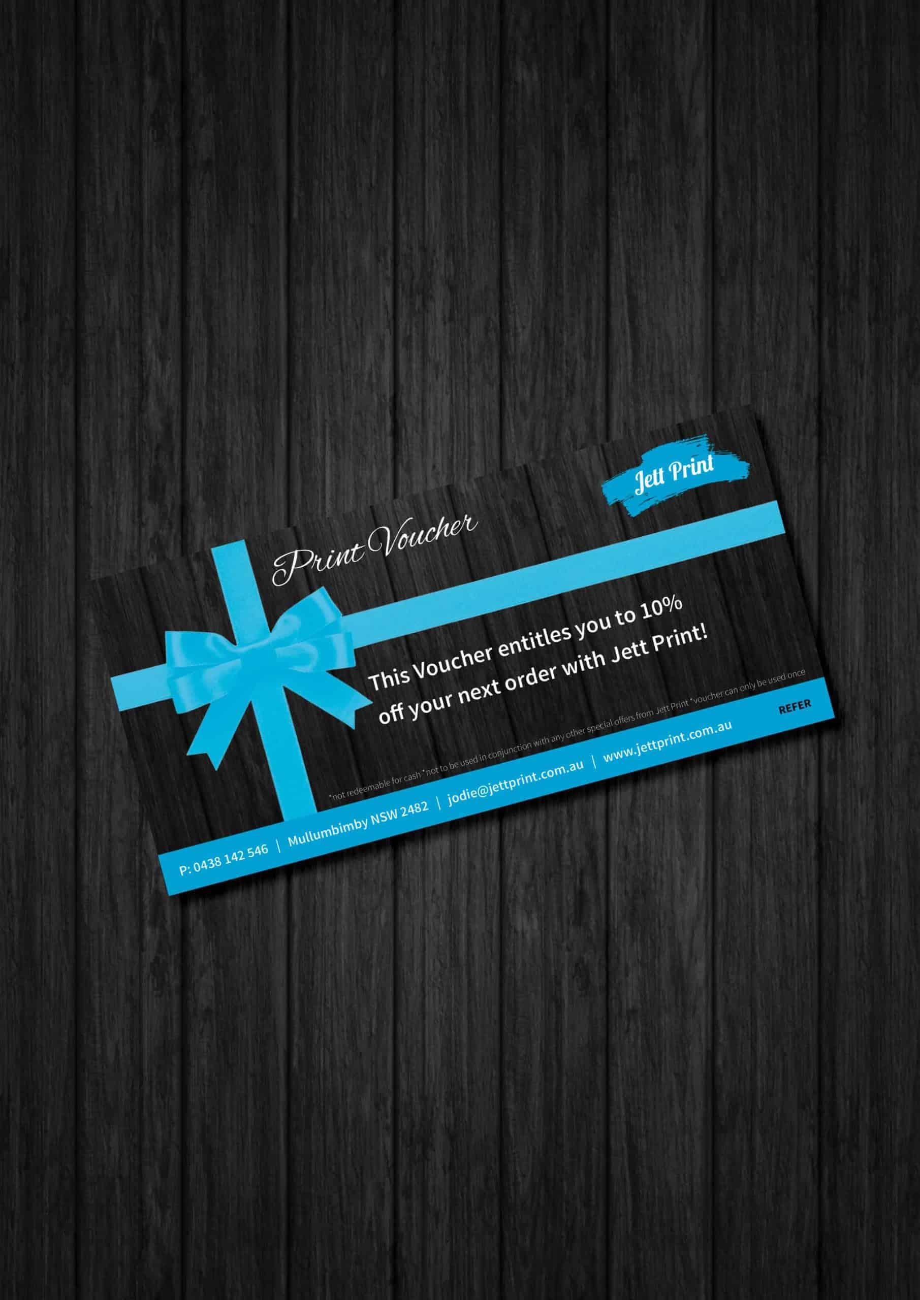 gift-vouchers-printing-gold-coast-tweed-heads-brisbane-byron-bay