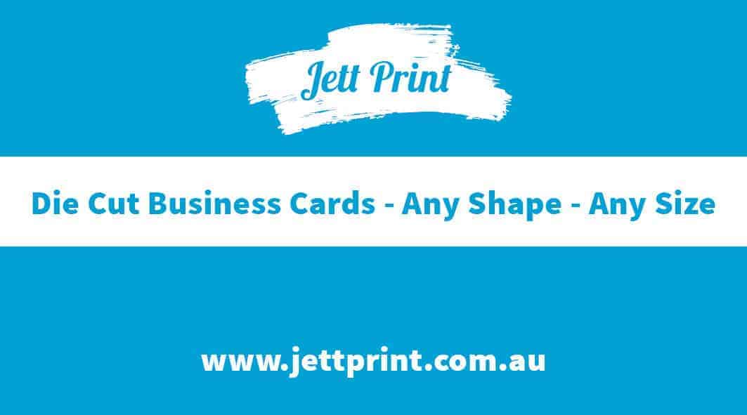 Die Cut Business Cards | Any Shape | Any Size | FREE Delivery