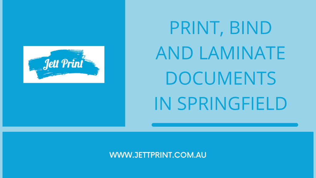 Printing and Binding documents