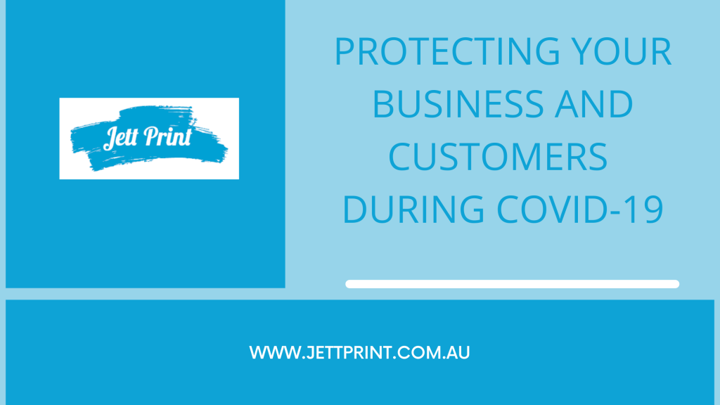 Protecting your business and customers during Covid-19